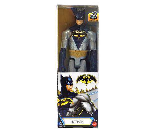 Batman Action Figure 12 inches - Black/Silver Action Figure