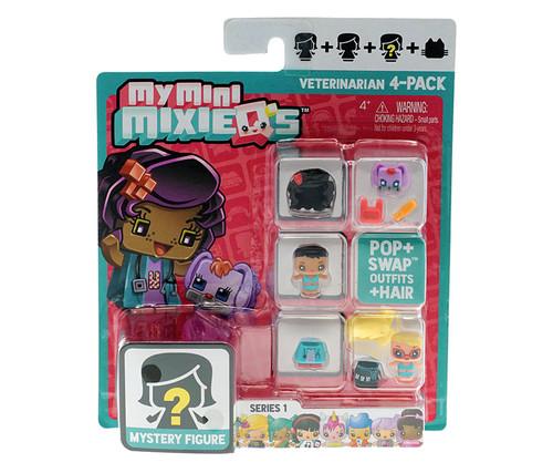 My Mini MixieQ's Veterinarian 4-Pack Series 1 Play Set