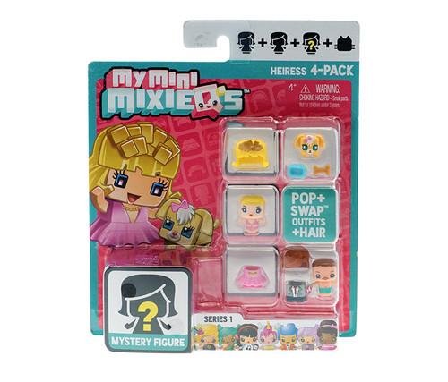 My Mini MixieQ's Heiress 4-Pack Series 1 Play Set