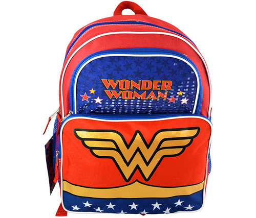 Wonder Woman 16 Inch Cargo Backpack Toys/Backpacks