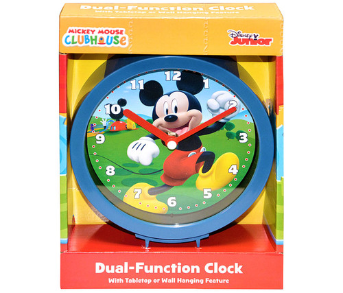 Disney Mickey Mouse Dual Function Clock Clock