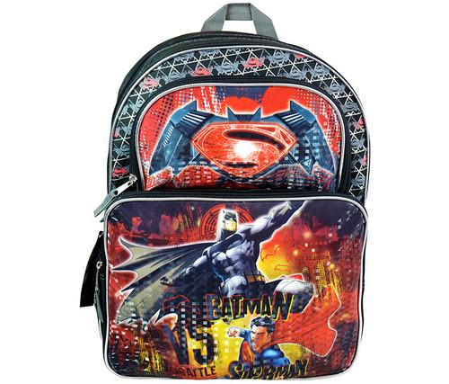 DC Comics Batman V Superman Battle Backpack Backpack
