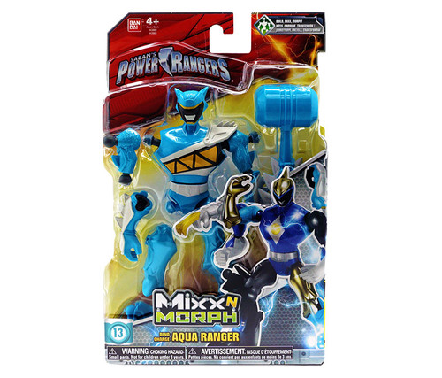 Power Rangers Mix N Morph Aqua Ranger Action Figure