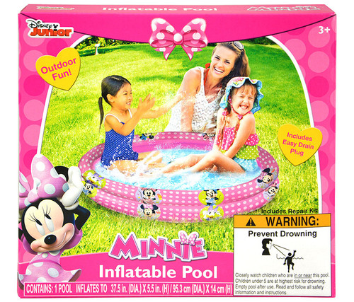 Disney Minnie Mouse Inflatable Pool Outdoor Swimming Pool