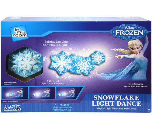 Frozen Snowflake Light Dance Kids Wall Decor