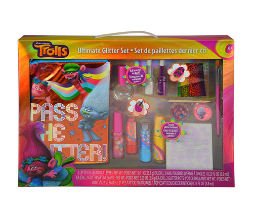 Trolls Ultimate Glitter Cosmetic Set  Cosmetic Playset