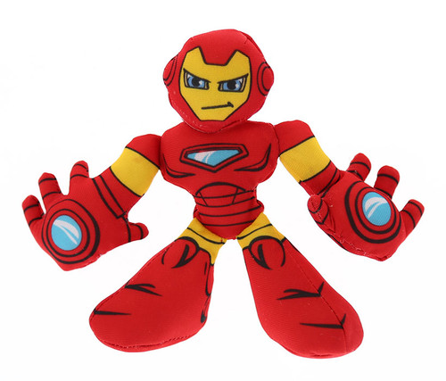 Marvel Super Hero Adventures Iron Man Bean Bashers Toy Bean Bag