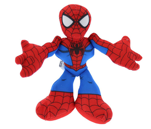 Marvel Super Hero Adventures Spider-Man Bean Basher Toy Bean Bag