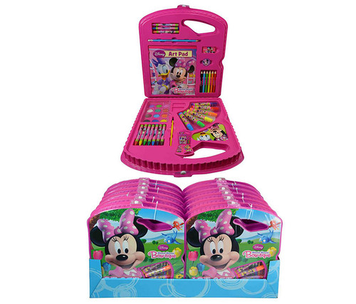 Disney Minnie Mouse Bowtique Art Set Art Supplies