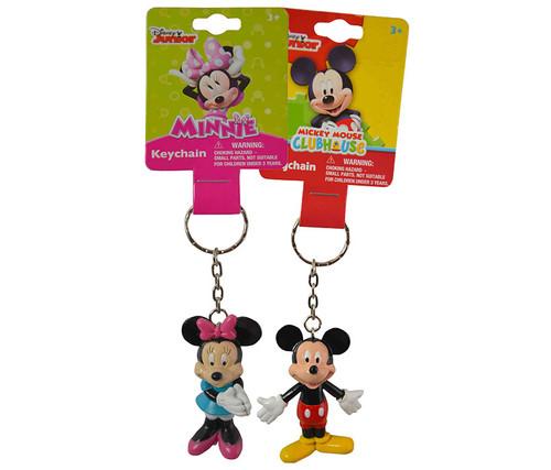 Clubhouse Mickey and Minnie Keychain 2 items Keychain