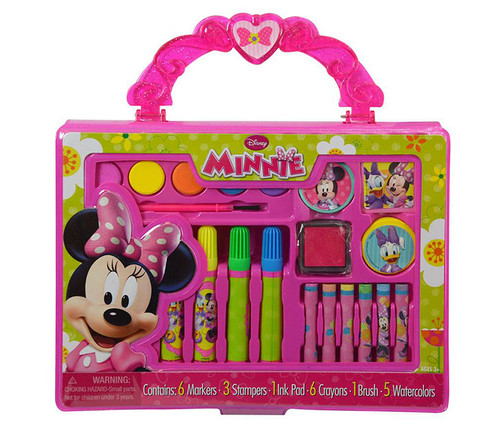 Disney Minnie Mouse Bowtique Take-Along Art Case Art Supplies