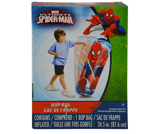 Marvel Spider-Man Inflatable Bop Punching Bag Toy