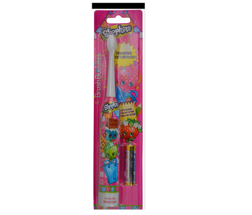 Shopkins Sonic Powered Toothbrush Bath Oral Care
