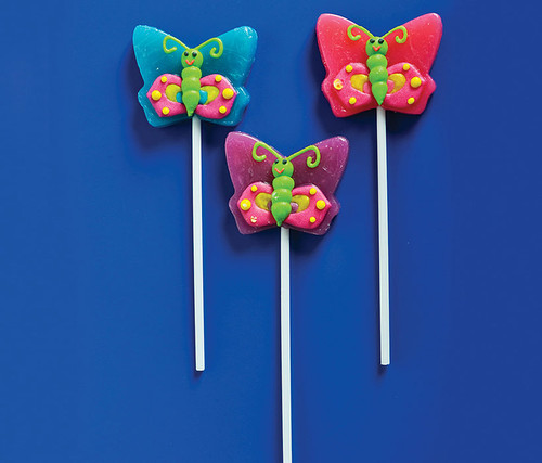 Butterfly Lollipops 12pc Set Candy