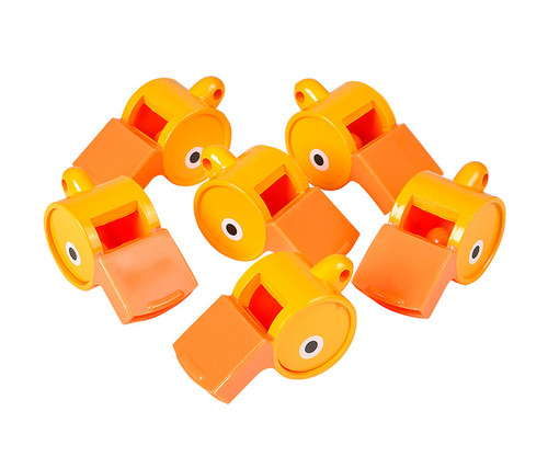 Duck Whistles 12pc Set Bulk Novelties