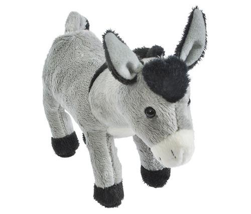 Donkey Pounce Pal Stuffed Animal 7.5 inch Plush