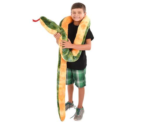 Giant Anaconda Snake Stuffed Animal  100 inches Plush