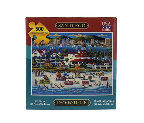San Diego Jigsaw Puzzle 500 Pieces Jigsaw Puzzles