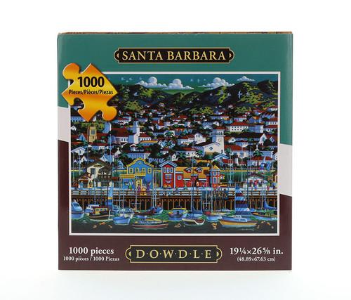 Santa Barbara Jigsaw Puzzle  1000 Pieces Jigsaw Puzzles