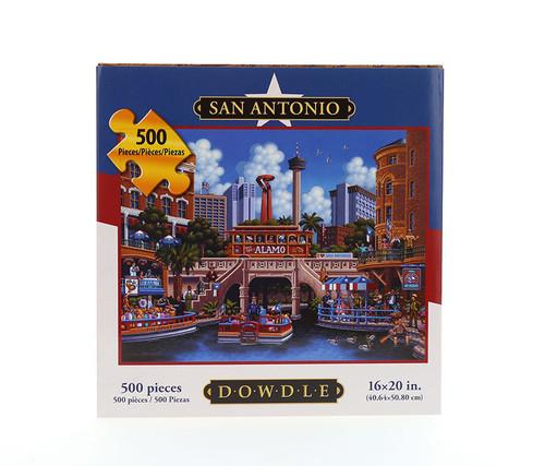 San Antonio Jigsaw Puzzle 500 Pieces  Jigsaw Puzzles