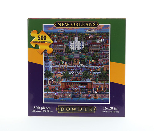 New Orleans Jigsaw Puzzle 500 Pieces  Jigsaw Puzzles
