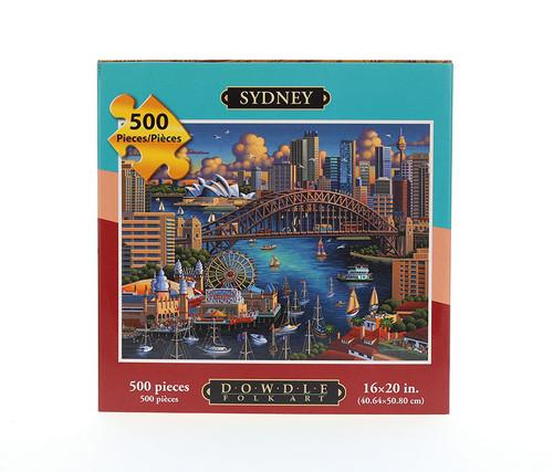 Sydney, Australia Jigsaw Puzzle 500 Pieces  Jigsaw Puzzles