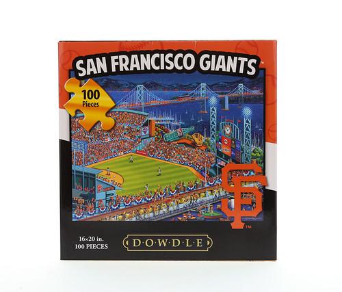San Francisco Giants Jigsaw Puzzle  100 Pieces Jigsaw Puzzles
