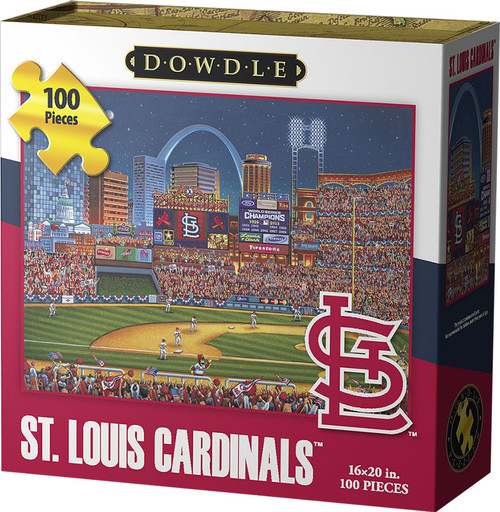 St. Louis Cardinals Jigsaw Puzzle 100 Pieces Jigsaw Puzzles