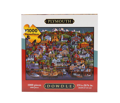 Plymouth Jigsaw Puzzle 1000 Pieces Jigsaw Puzzles