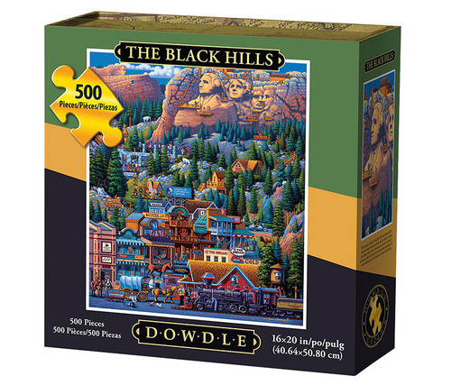 The Black Hills Jigsaw Puzzle 500 Pieces  Jigsaw Puzzles
