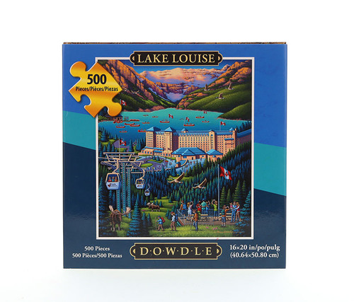 Lake Louise Jigsaw Puzzle 500 Pieces Jigsaw Puzzles