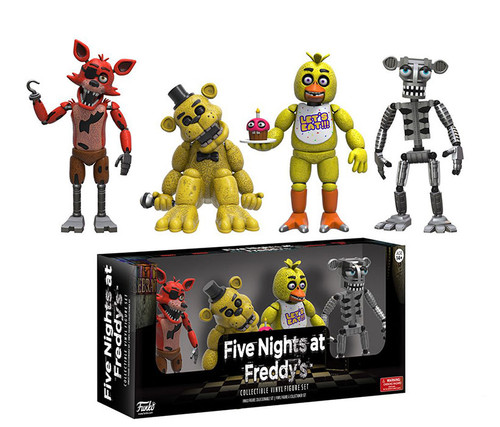 Funko 4 Pack Five Night at Freddys Toy (4pc Set) Character Display Figure