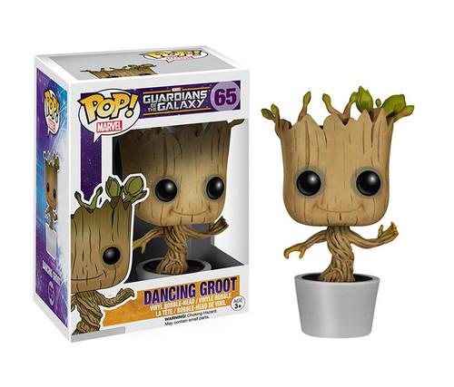 Funko POP Dancing Groot Bobble Action Toy Character Display Figure