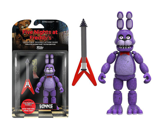 Funko Bonnie 5 Inch Toy Figure (3pc Set) Character Display Figure