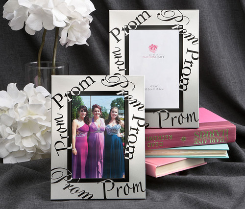 Fashioncraft Silver Prom 4 x 6 inch Photo Frame Decor Accent