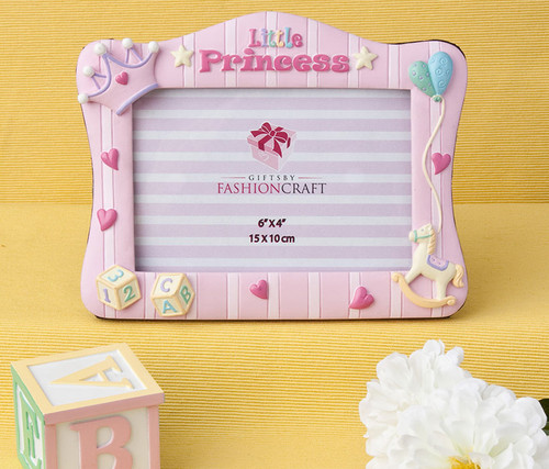 Fashioncraft Little Princess 6 X 4 Inch Picture frame Decor Accent
