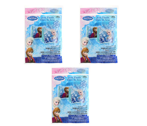 Disney Frozen Inflatable Arm Floats 3 Items Arm Floats
