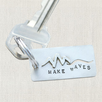 COCO Make Waves Keychain