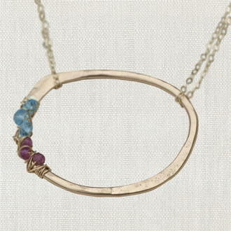 Luxe Life Circle Necklace