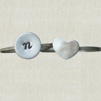 Love Signet Ring Set