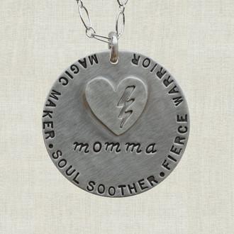 MaxLove Super Momma Necklace