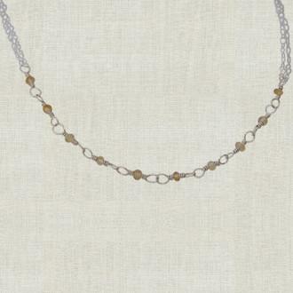 10 Stone Bridesmaid Necklace