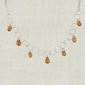 Seven Drop Bridesmaid Necklace