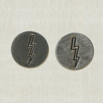 MaxLove Lightning Bolt Stud Earrings