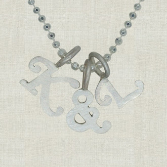 Lovely Initial  Necklace