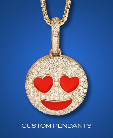 Custom diamond jewelry by shyne jewelers custom pendants homepageg mozeypictures Image collections