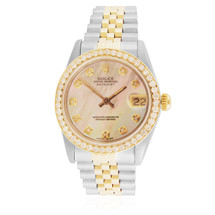 Rolex DateJust 2.5ct Diamond Bezel Automatic Women's Watch