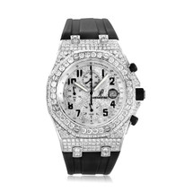 Audemars Piguet Royal Oak Stainless Steel 11.5ct Diamond Watch