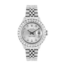 Rolex Lady-DateJust Stainless Steel 1.75ct Diamond Watch