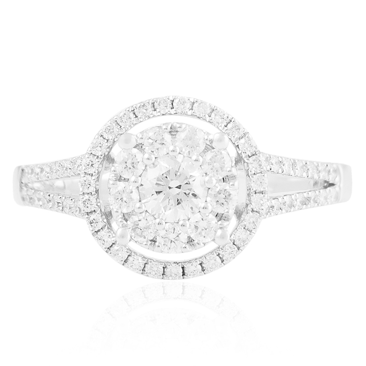 18k white gold 89ct promise ring shyne jewelers